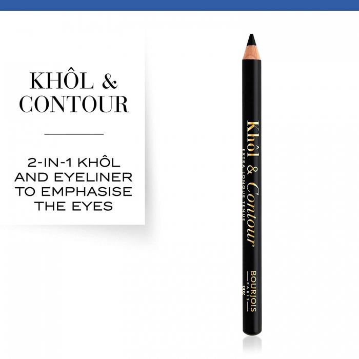 Creion de Ochi Bourjois Khol&Contour - 71 Ultra Black , 0,78 g-big