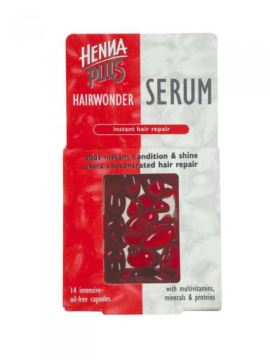 Capsule cu Ser HennaPlus cu Vitamine si Minerale - 14 mg-big