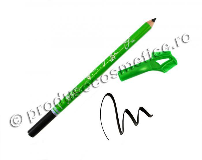 Creion de Sprancene Rezistent la transfer MENOW - 01 Negru-big