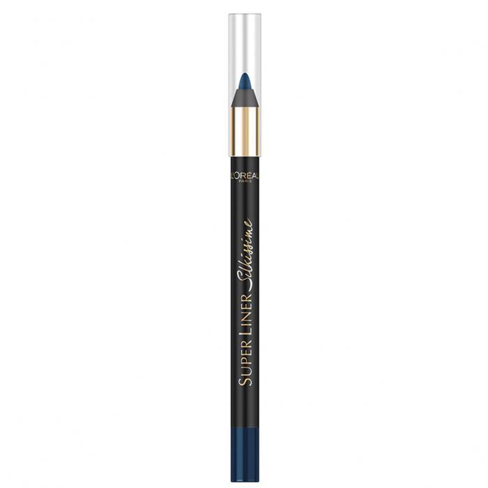 Creion De Ochi L'oreal Super Liner Silkissime - Moonlight Blue-big