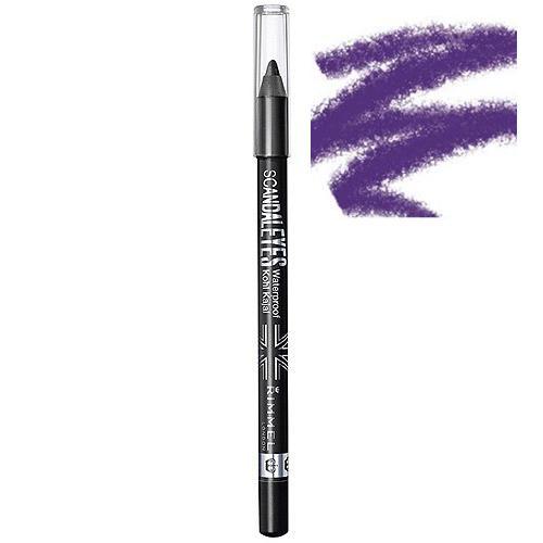 Creion de Ochi Rimmel ScandalEyes Waterproof Kohl Kajal - 13 Purple-big