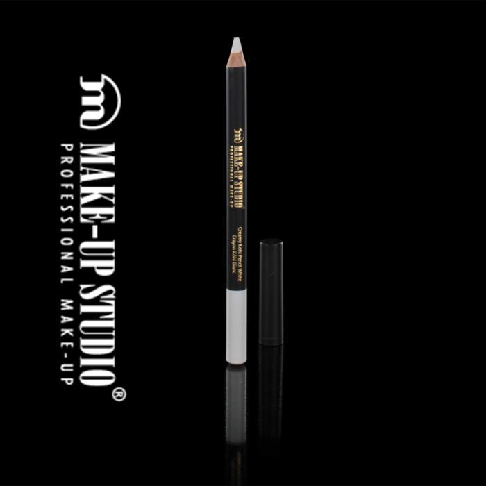 Creion Profesional alb pentru luminozitate Kohl Make-Up Studio - White-big