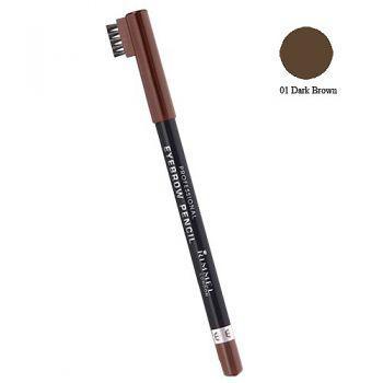 Creion de Sprancene Rimmel Professional - 001 Dark Brown-big