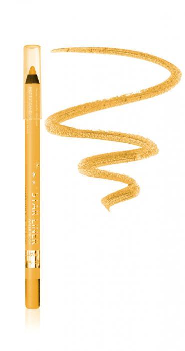 Creion Iluminator Waterproof cu irizatii aurii ARCANCIL- 542 Golden Gr-big