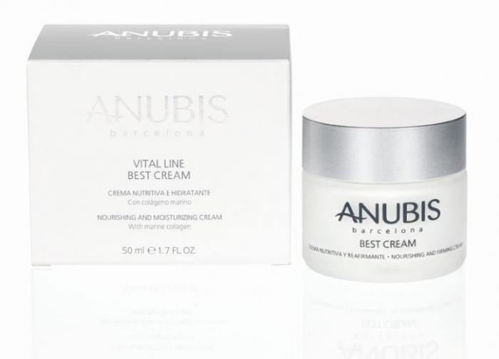Crema de Fata ANUBIS Vital Line BEST Cream cu Colagen Marin-50 ml-big