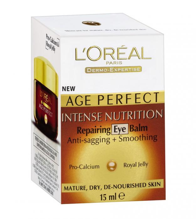 Crema de Ochi L'oreal Age Perfect Intense Nutrition Repairing Eye Balm, 15ml-big