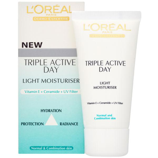 Crema de Zi L'oreal Triple Active pentru ten normal/mixt-big