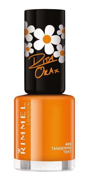 Lac De Unghii RIMMEL 60 Seconds Super Shine - 400 Tangerine Tent-big