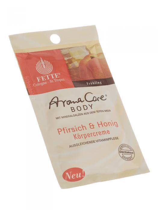 Crema de Corp DermaSel Aroma Care cu Piersici si Miere - 30 ml-big