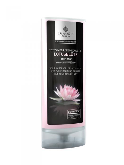 Crema de Dus DermaSel Exklusiv cu Floare de Lotus - 150 ml-big