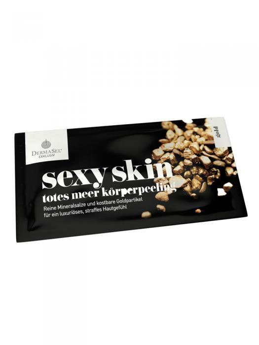 Exfoliant Corporal DermaSel Exklusiv Sexy Skin cu Aur - 38 ml-big