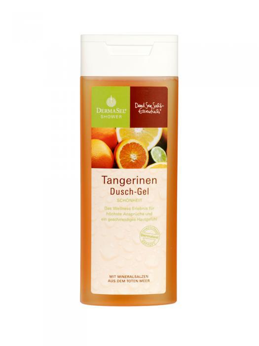 Gel de Dus DermaSel Shower cu Mandarine - 150 ml-big