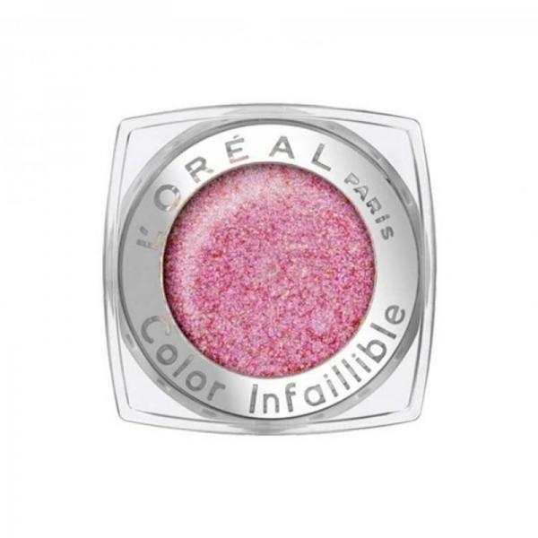 Fard de pleoape L'Oreal Color Infallible Iridescent Finish - 036 Naughty Strawberry, 3.5g-big