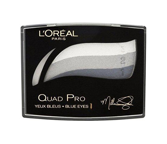 Fard L'oreal Quad Pro Mila Jovovich - 337 Saphir Crystal-big