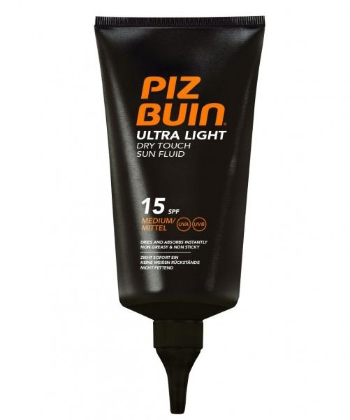 Fluid Piz Buin Ultra Light Dry Touch cu Protectie Solara SPF 15, 150 ml-big