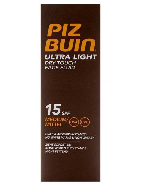 Fluid pentru Ten Piz Buin Ultra Light Dry Touch cu Protectie Solara SPF 15, 50 ml-big
