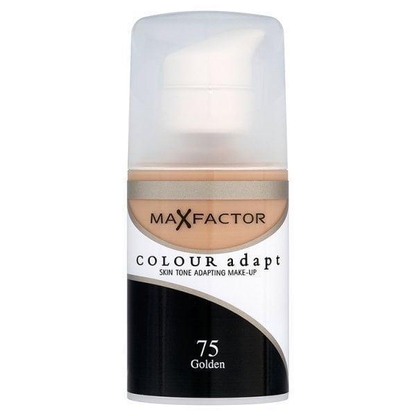 Fond de Ten Lichid MAX FACTOR Colour Adapt - 75 Golden, 34 ml-big