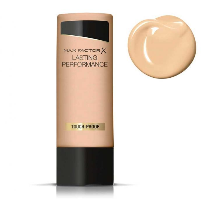Fond de Ten Lichid rezistent la transfer MAX FACTOR Lasting Performance Touch-Proof - 106 Natural Beige, 35ml-big