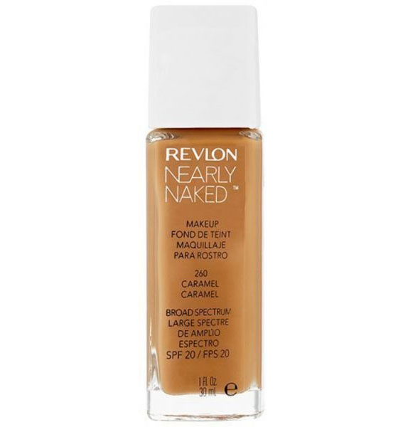 Fond de ten Revlon Nearly Naked - 260 Caramel, 30ml-big