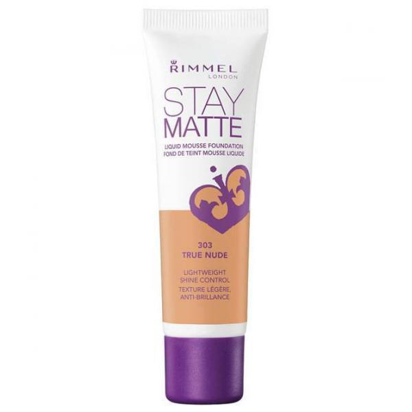 Fond De Ten Rimmel Stay Matte Liquid Mousse - 303 True Nude, 30 ml-big