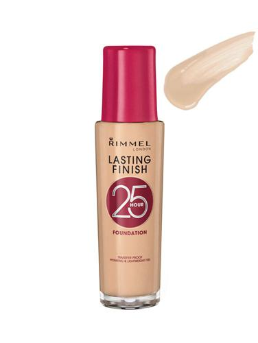 Fond De Ten Rimmel Lasting Finish 25 Hr - 200 Soft Beige, 30 ml-big