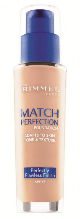 Fond de Ten Rimmel Match Perfection - 091 Light Ivory, 30 ml-big