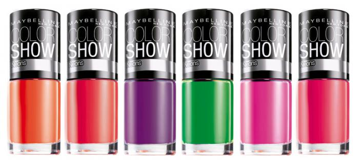 Oja Maybelline Color Show Neons - 191 Orange Fix-big