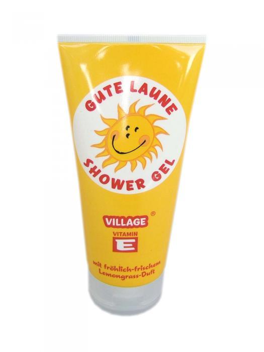 Gel de Dus Smiley VILLAGE COSMETICS cu Lamaita - 200 ml-big