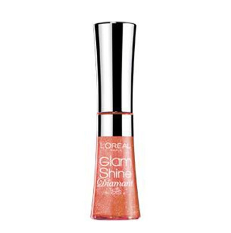 Gloss L'oreal Glam Shine Diamant - 161 Amber Carat-big