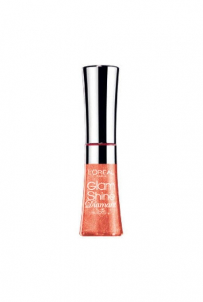 Gloss L'oreal Glam Shine Diamant - 163 Blush Carat-big