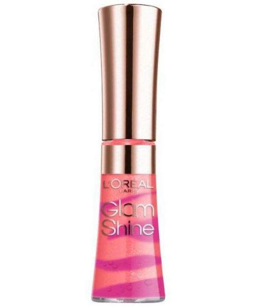 Gloss L'oreal Glam Shine Miss Candy - 703 Tart Lollipop, 6ml-big