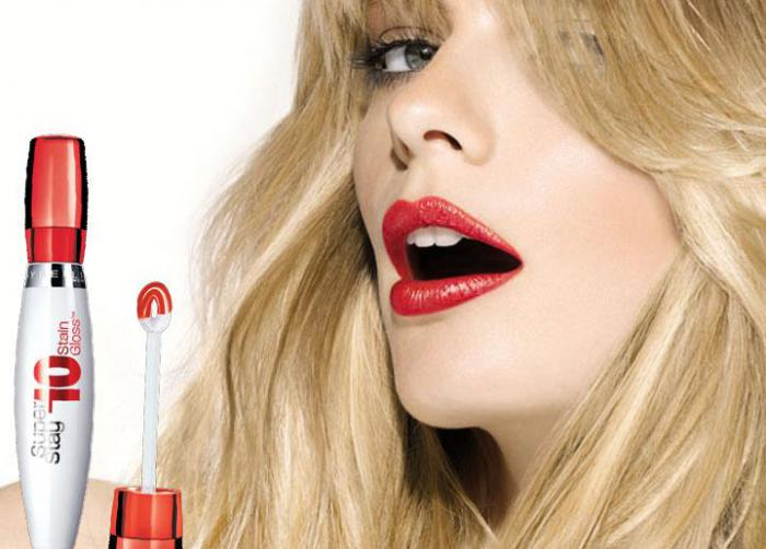 Gloss Maybelline SuperStay 10Hr Tint Gloss-410 Forever Coral-big