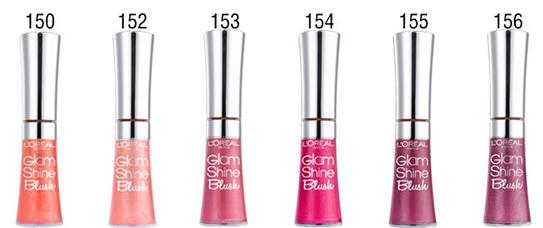 Gloss L'oreal Glam Shine Blush - 154 Very Blush-big