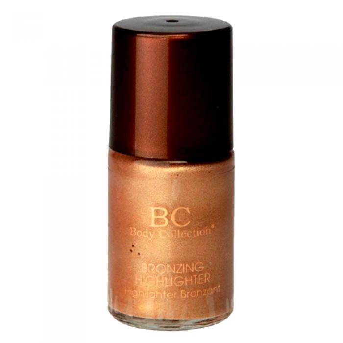 Iluminator Bronzant BODY COLLECTION Highlighter cu Irizatii Aurii 12ml-big