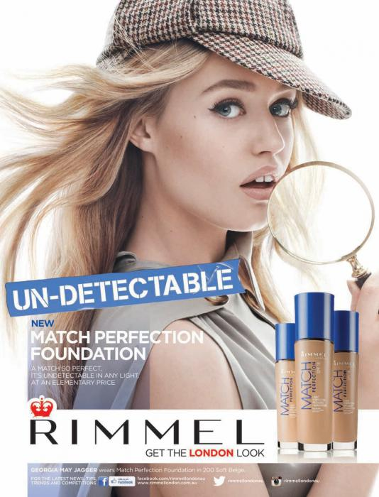 Fond de Ten Rimmel Match Perfection - 400 Natural Beige-big