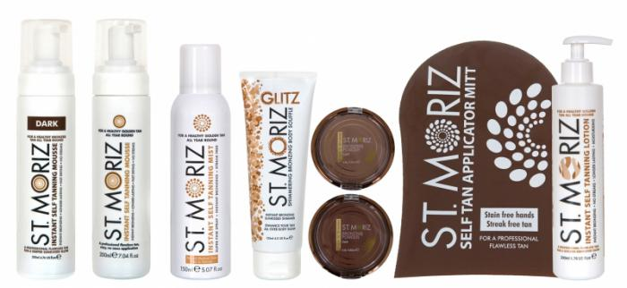 Spray Autobronzant Profesional ST MORIZ Instant pt Picioare - Medium-big