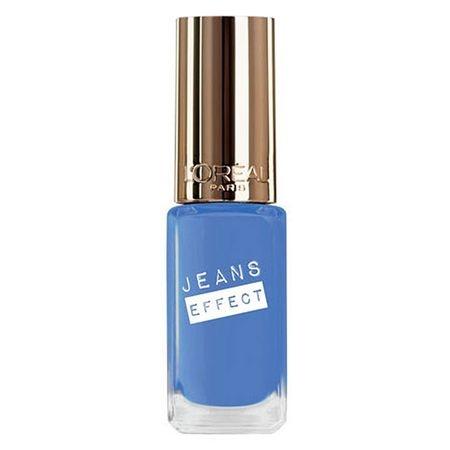 Lac de Unghii Jeans Effect L'OREAL Color Riche - 861 Azur Salopette, 5ml-big