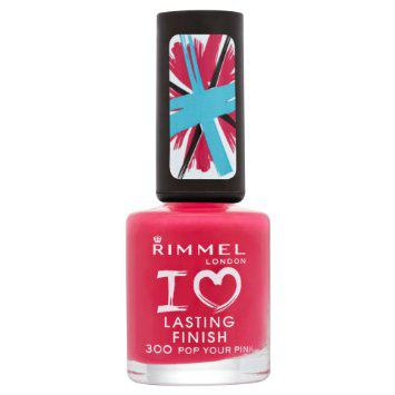 Lac de unghii Rimmel I Love Lasting Finish - 300 Pop Your Pink-big