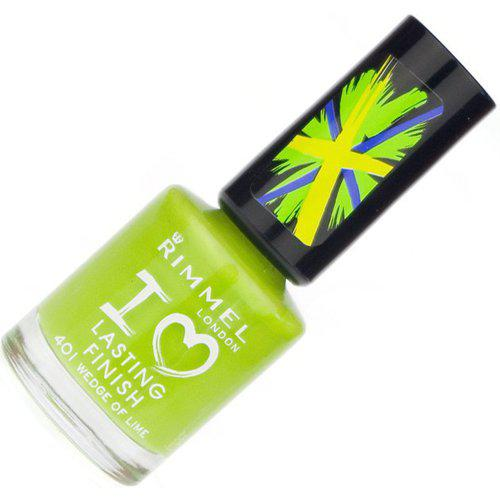 Lac de unghii Rimmel I Love Lasting Finish - 401 Wedge Of Lime-big