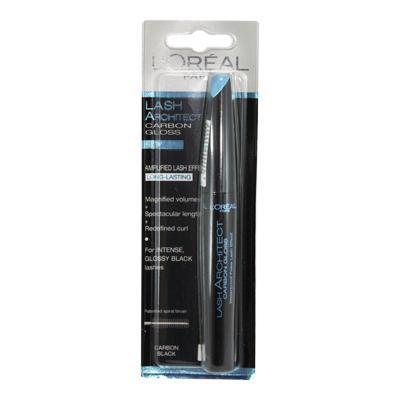 Rimel L'Oreal Lash Architecte Carbon Gloss Waterproof- Black-big