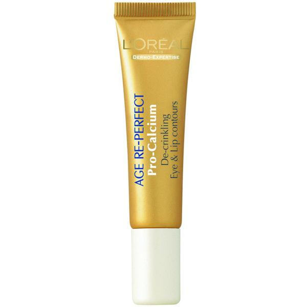 Crema pt. conturul ochilor si buzelor L'OREAL AGE Pro Calcium-big