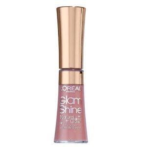 Gloss L'oreal Glam Shine Natural Glow - 400 Juicy Rose Glow-big