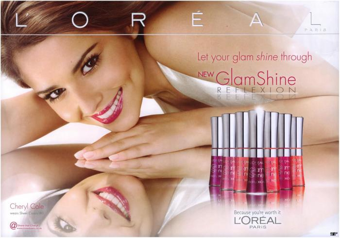 Gloss L'OREAL Glam Shine Reflexion - 174 Sheer Peach, 6ml-big