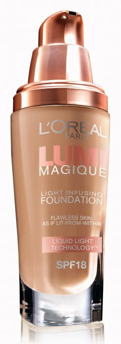 Fond de Ten L'oreal Lumi Magique - W3 Gold Linen-big