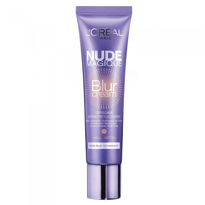 B.B Cream L'oreal Nude Magique Blur Cream - Medium/Dark Skin-big