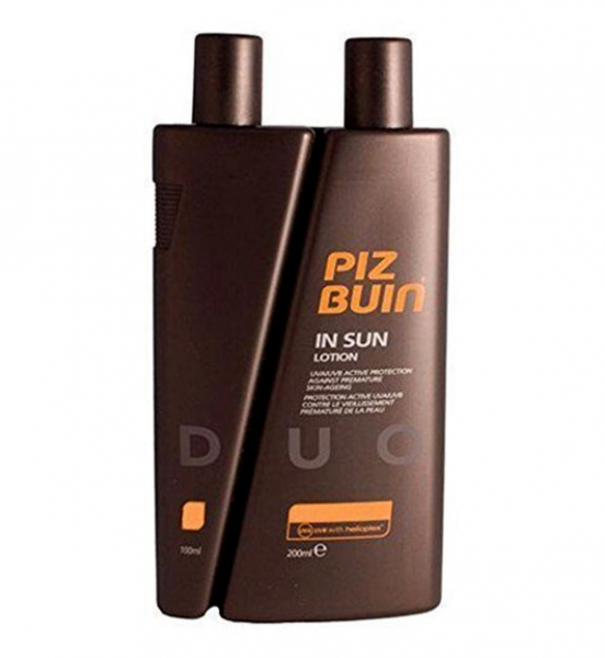 Lotiune Protectie Solara Piz Buin In Sun DUO SPF 15 + SPF 6 - 300ml-big