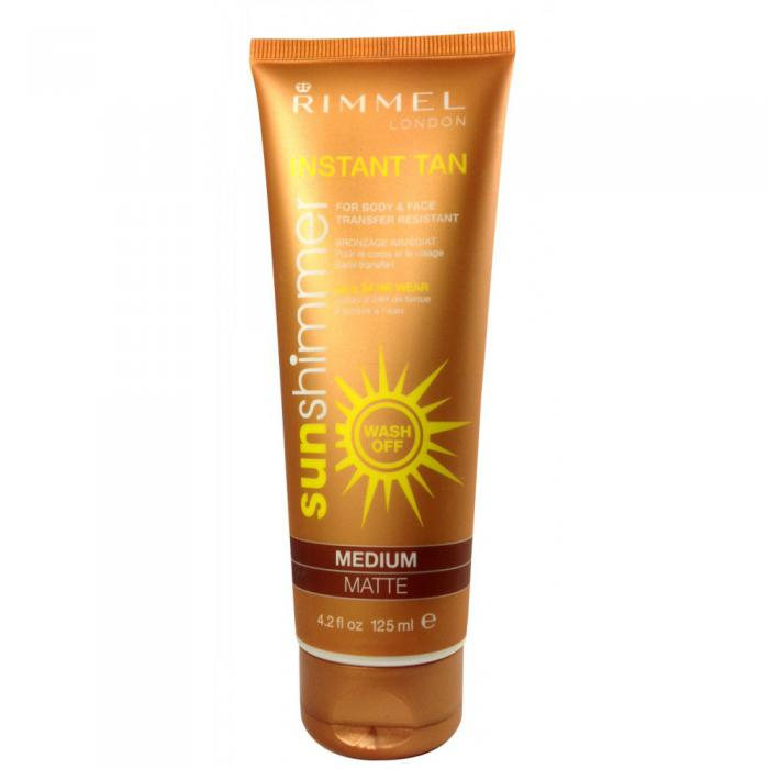 Lotiune autobronzanta Rimmel Sun Shimmer - Medium Matte-big