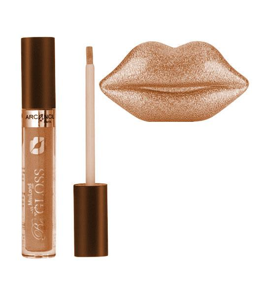 Lipgloss pigmentat ARCANCIL Paris Be My Gloss - 002 Beige Sensuel-big