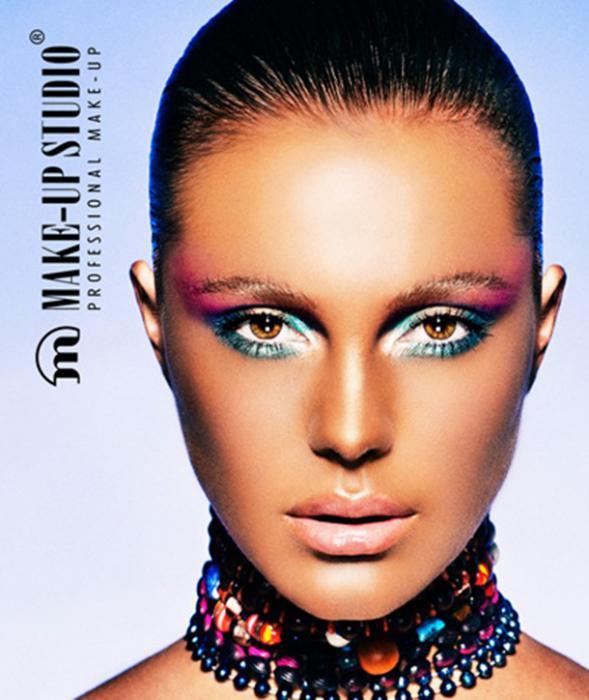 Pudra Neutralizatoare Profesionala Make-Up Studio 8 gr - Apricot-big
