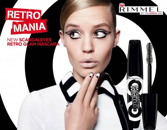 Mascara Rimmel ScandalEyes Retro Glam - Black-big